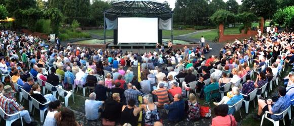 Open Air Kino in Mülheim